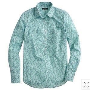 J. Crew | flowerpatch blouse | size 00